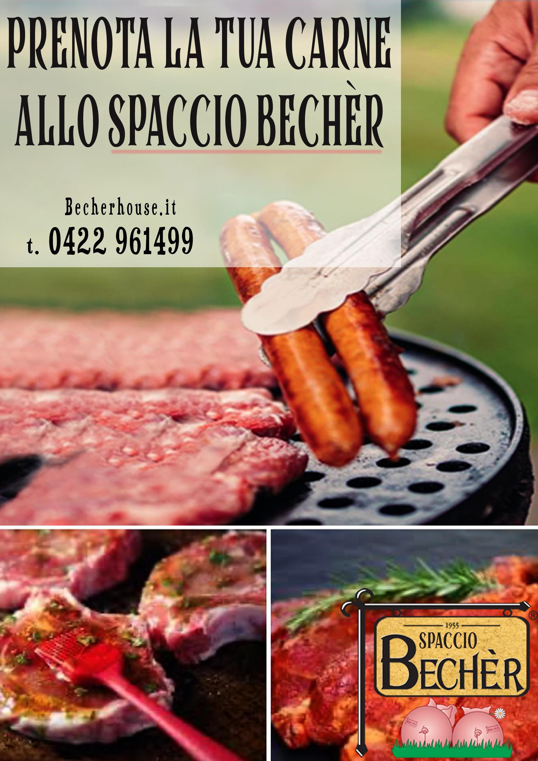 Prenota carne spaccio sito